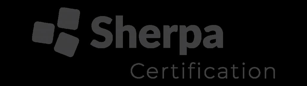 logo sherpa black